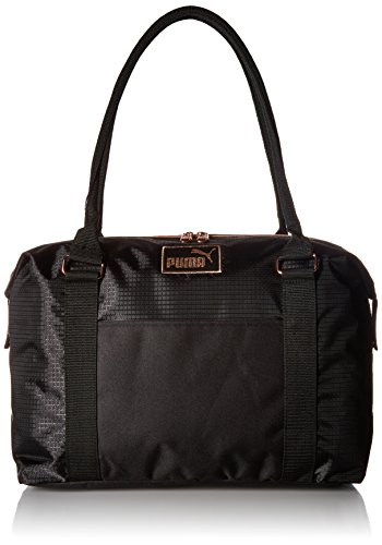 PUMA Women's Evercat Jane Tote, black/gold, OS