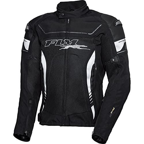 FLM Motorradjacke mit Protektoren Motorrad Jacke Sports Damen Leder-/Textiljacke 3.1 schwarz L, Sportler, Ganzjährig, Leder/Textil