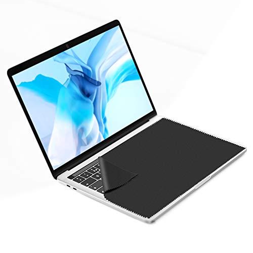 3X GRUTTI Mikrofasertücher - 13 Zoll Mikrofaser Display Schutztuch. Microfasertuch zum Bildschirm Schutz vor Schmutz auf der Laptop Tastatur. Microfaser Reinigungstücher zur Notebook Reinigung