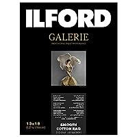 イルフォード インクジェット用紙 スムースコットンラグ 厚手 スムースマット面質 2L(127mm×178mm)50枚ILFORD GALERIE Smooth Cotton Rag ギャラリー ファインアート コットン 432644