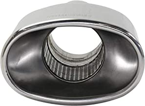 Kool Vue Exhaust Tip for 86-93 Acura Legen Stainless Steel Oval Resonated 2.5