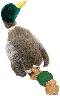 House of Paws Cámara de patas grandes de pato de peluche con pelota de tenis