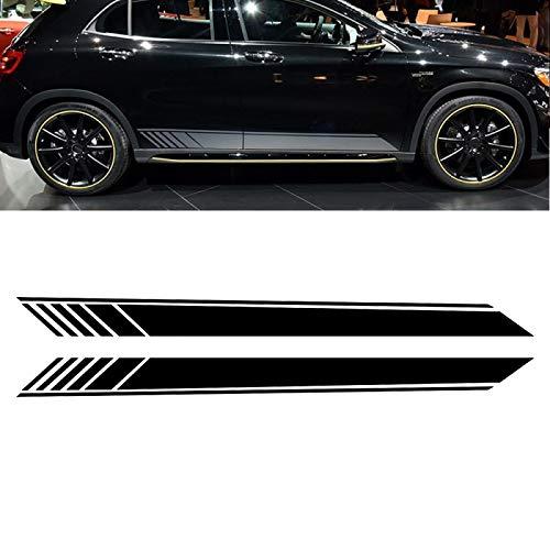 OceanAutos Für Mercedes Benz Vito V Klasse W447 W639 V260 V260L SWB LWB, Autotür Seitenrock AufkleberAufkleber Zubehör