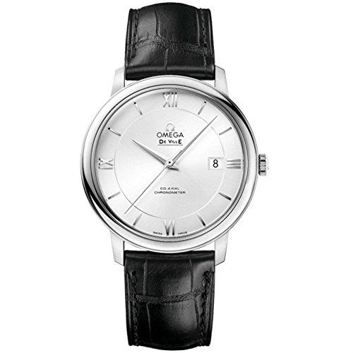 Omega De Ville Prestige Automatic Movement Silver Dial Men's Watches 42413402002001