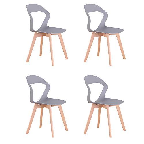 sedie sala da pranzo azzurre Naturelifestore Sedie Moderne della Sedia del Openwork dello Schienale Minimalista Moderno Nordico per la Sala da Pranzo