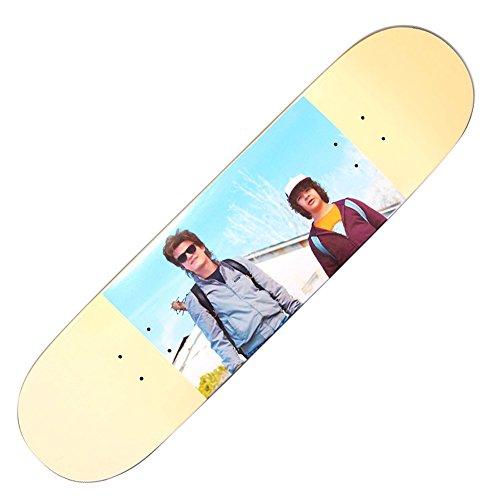 Madrid X Stranger Things Skateboard Deck (8