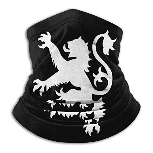 Bandanas unisex con el logotipo de la bandera escocesa de león para la cara Ma-sk multifuncional, bufanda, polaina para el cuello, pasamontañas para deportes al aire libre