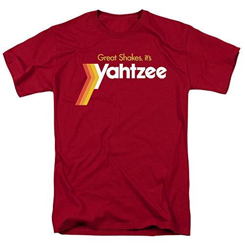 Popfunk Yahtzee Great Shakes Logo T Shirt & Stickers (Large)