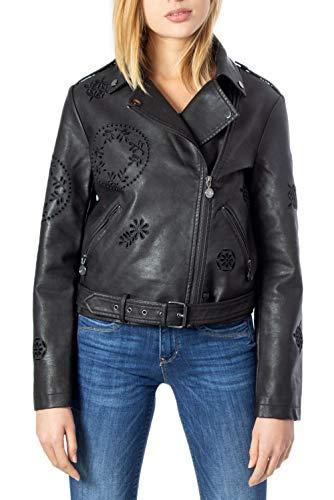 Desigual Utah Jacken Women Schwarz - DE 38 (EU 40) - Lederjacken/Kunstlederjacken Outerwear