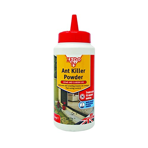 Zero In Ant and Insect Killer Powder, Puffer Treatment Pack Controls Bugs (Ants, Woodlice, Cockroaches and Earwigs) in The Home and Garden, Treats up to 15 sq m, 300 g