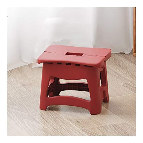 RH-HPC Campinghocker Kunststoff-Klapphocker Haushalts Stuhl Erwachsener Zug Folding Kleine Sitzbank im Freien beweglicher Fischen Hocker (Color : 1, Size : S)