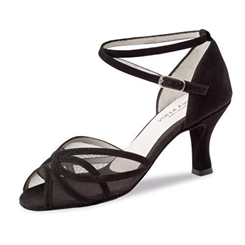 Anna Kern Damen Tanzschuhe 740-60 - Farbe: Schwarz - Größe: UK 3,5