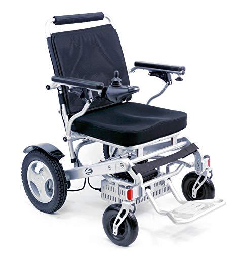 Karman Healthcare Tranzit Go Power Wheelchair Foldable Lightweight Silver