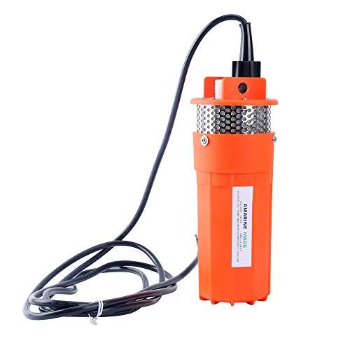 Amarine Made 24V Submersible Deep Well Water Dc Pump/Alternative Energy Solar Battery