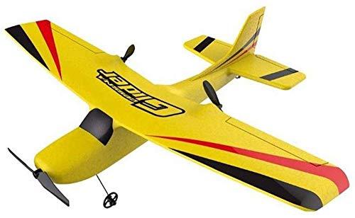 ZWJWJ Escultura Control Remoto Plane Epp Foam Glider Plane Gyro 2 4G 2Ch Rtf Control Remoto Wingspan Plane Fun Boy Airplane Fun Toy