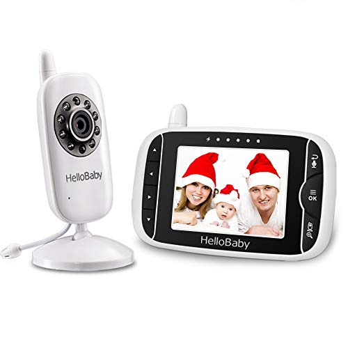 HelloBaby HB32 Vigilabebés Monitor Inalámbrico de Vídeo c