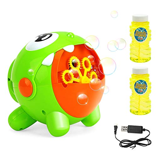 EXTSUD Máquina de Burbujas para Niños,...