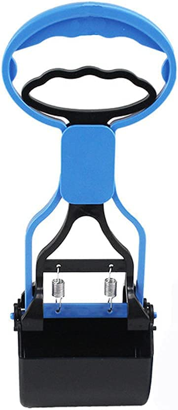 RENJINGG Dog Pooper Scooper with Tray Long Adjustable Handle Rak Cheap Cheap mail order sales bargain