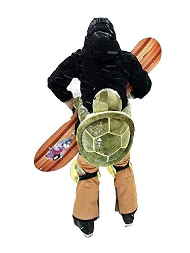 RONGHUA STYLE Knieschützer Snowboard, Skifahren, 1 Paar Schildkröte Knieschoner - Hintern Protektor Fuer Damen & Herren - Knieschutz Kniegelenk - Kniebandage gepolstert