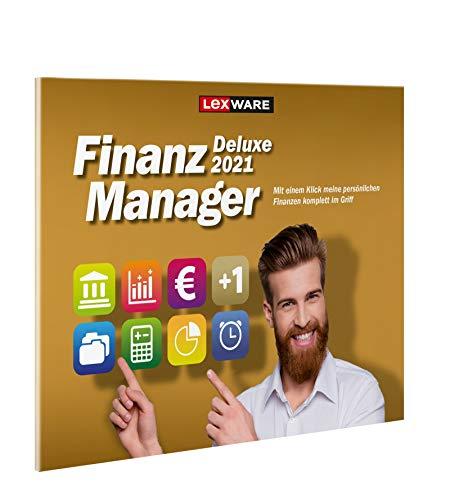 Lexware FinanzManager Deluxe 2021|frustfreier Verpackung|Einfache Buchhaltungs-Software für private Finanzen und Wertpapier-Handel