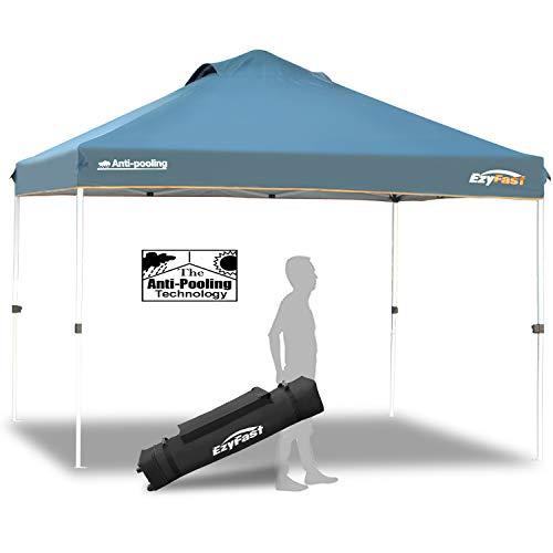 EzyFast Antipool Canopy for Rain or Sunshine, Portable 12 x 12 Large Size...
