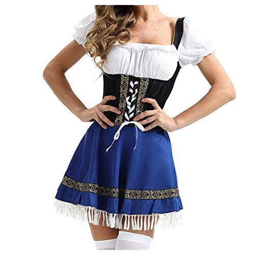 Robe De Servante Femmes Fête de la Bière Jupe Costumes Cosplay