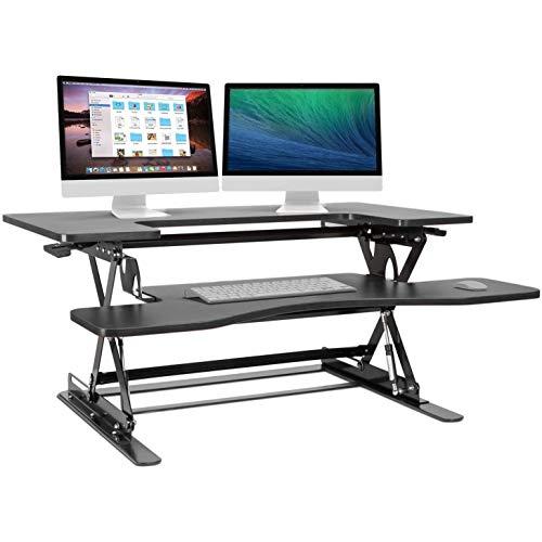 Halter Preassembled Height Adjustable Sit/Stand Desk