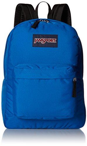 JanSport Superbreak Backpack - Stellar Blue - Classic, Ultralight, One Size