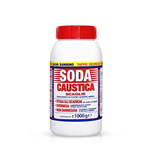 Marten 18597 Soda Caustica a Scaglie, 1 Kg