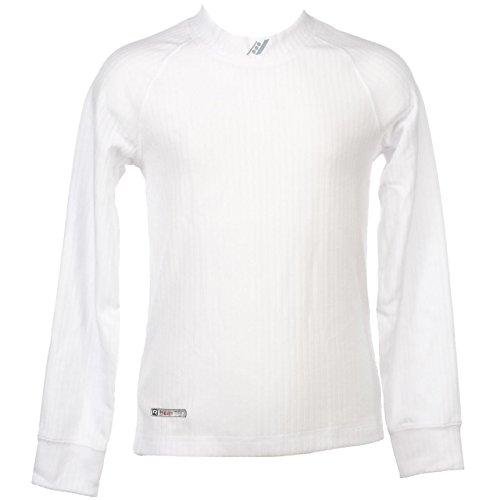 Rucanor–Termico J blancml Aspen–sotto Vestiti Termici Caldo, Bianco