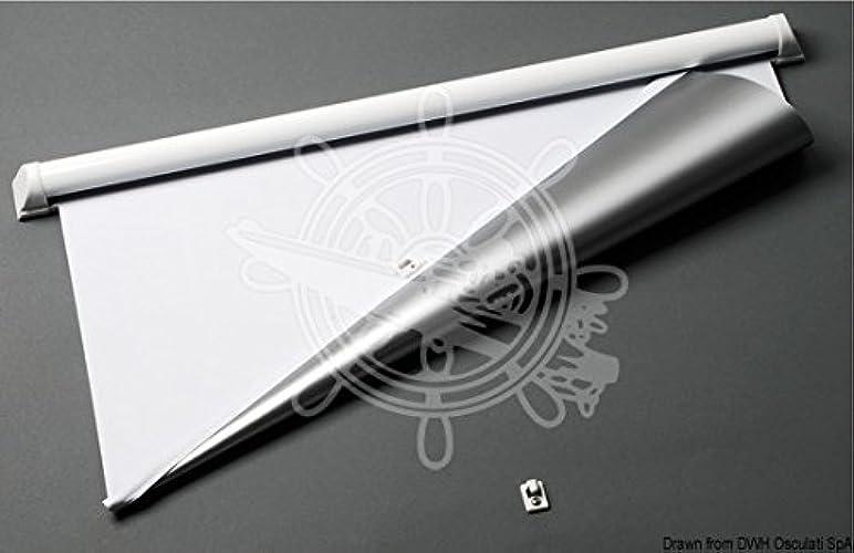 OSCULATI Rideau occultant Blanc Climavision Mare 500x600 mm