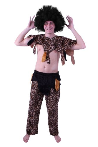 TH-MP Buschmann - Disfraz de hombre africano (talla L)