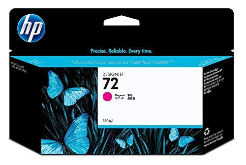 HP 72 Magenta Original Druckerpatrone mit hoher Reichweite (130 ml) für HP DesignJet