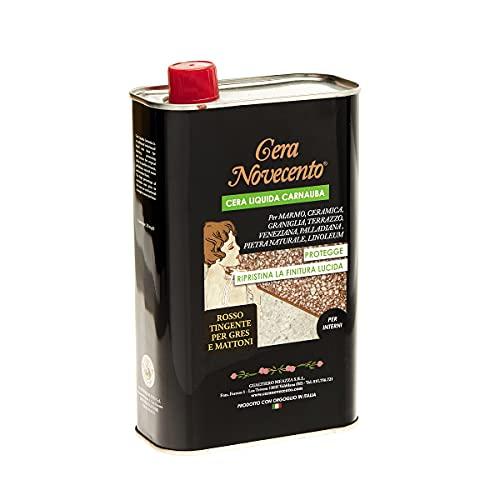 Cera Novecento X909 Cera Carnauba, Neutro, 1 litro