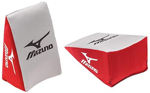 Mizuno Catcher's Knee Wedge Baseball or Softball, Large, Red Grey