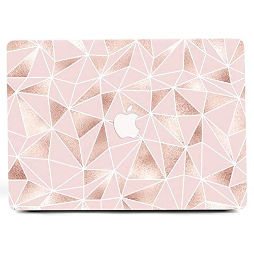 L2W Laptop Case for MacBook Pro Oldest 13 with Gigabit Ethernet Port, Model: A1278, No Touch ID,Clear MacBook Case with Designs Plastic Hard Case Shell,CD-4