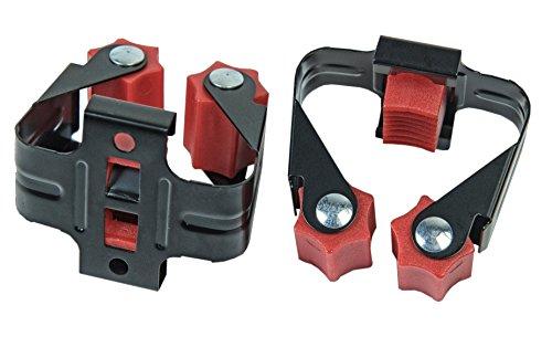 Connex Gerätehalter Kunststoff bis 35mm / Klemmhalter / Besenhalter / Wandhalter / Ordnungssystem / Garten / GH135
