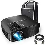 VANKYO Leisure 510 Vidéoprojecteur Rétroprojecteur 4500 Lux LED Projecteur Soutien HD 1080p ,200 '' Affichage, HDMI, AV, VGA et...
