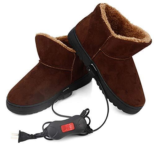 LONG X Zapatillas Calefactoras Zapato USB