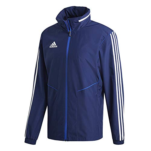adidas Tiro 19 all-Weather, Giacca Uomo, Dark Blue/White, M