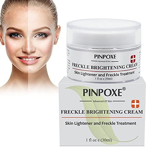 Whitening Creme, Skin Lightening Cream, Creme Eclaircissante, Creme Visage Anti Taches, Creme Hydratante Visage, Nourrissante, Réparant et Éclaircissant 30ml