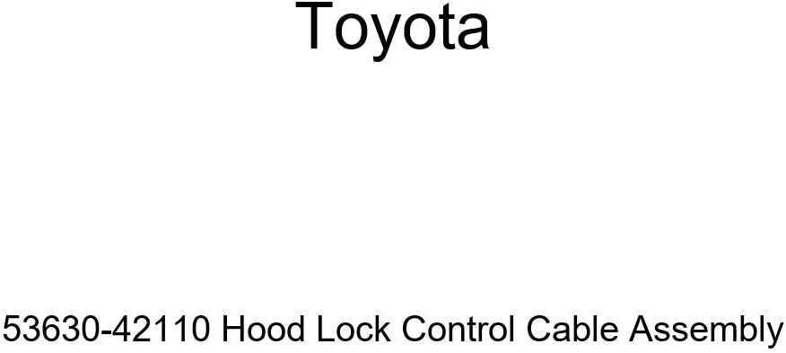 Max 70% OFF Toyota 53630-42110 Memphis Mall Hood Lock Control Assembly Cable