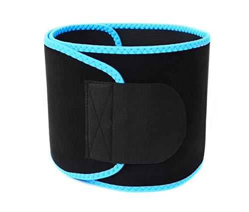 Muzboo Cinturón de cintura para mujer, para mujer y mujer, adelgazante, cinturón con vientre ajustable azul azul medium