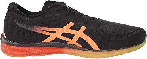 ASICS Men's Gel-Quantum Infinity Running Shoes, 10M, Black/Shocking Orange