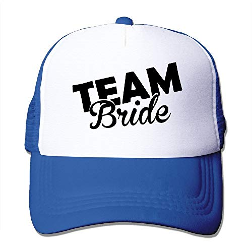Ccsoixu Adult Team Bride Groom Trucker Hats,Unisex Mesh Caps,Snapback Baseball cap Hat