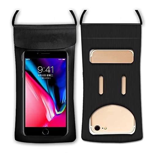 Bolsa Impermeable Universal, Bolsa Impermeable Para Teléfono Compatible Con Identificación De Huellas Dactilares Para Iphone, Samsung Google Htc Hasta 6.5in Bolsa Seca Para Teléfono Celular Para Rafti