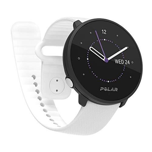 Polar Unite Sportwatch Impermeabile Unisex con Gps da Smartphone, Monitoraggio del Sonno, Guida all'Allenamento Quotidiano, Misurazione del Recupero - Cardiofrequenzimetro dal Polso, Bianco