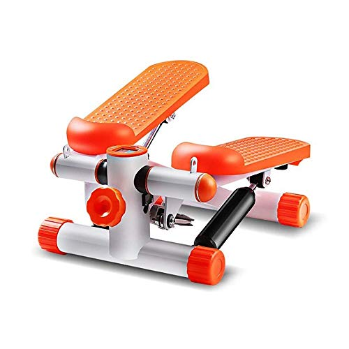 SYXX Haushalt Mute Bein abnimmt Hydraulic Stepper, Mini Stepper, langlebig und sicher Laufband, Multifunktions-Sportgerät, Fett verbrennen, langlebig und sicher Laufband mit Resistance Band