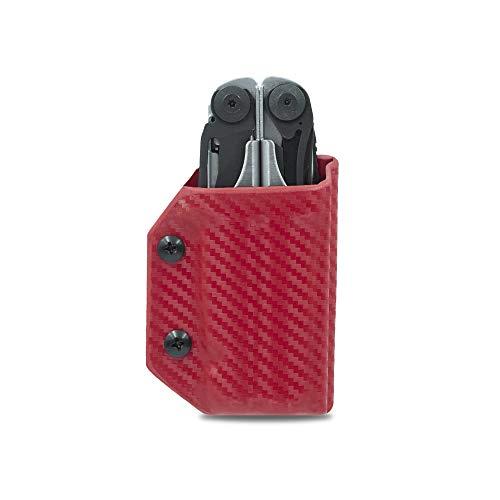 Clip & Carry Kydex Gaine multi-outil pour cuir Surge – Fabriqué aux États-Unis (outil multifonction non inclus) EDC Étui pour porte-outils multifonction