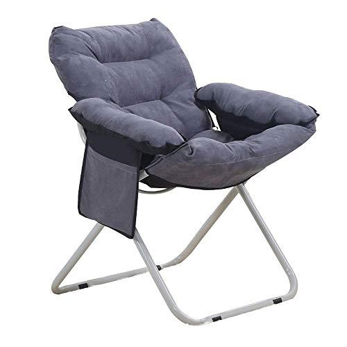 WALNUT Home Verstellbarer Klappstuhl Lazy Sofa Relax Floor Chair & Gaming Chair -Bodenkissen Multiangle Couchbetten for Watch TV/Gaming/Mittagspause/Nap